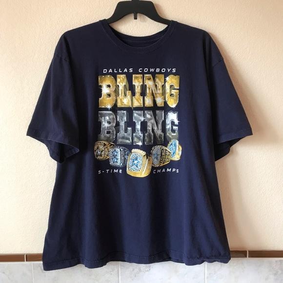 86d7bb87 DALLAS COWBOYS 5 Times Champs T-Shirt Super Bowl